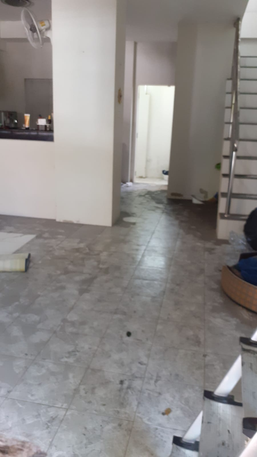 Дом после пожара