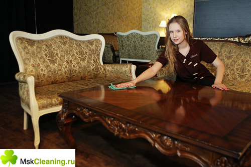 уборка столовой